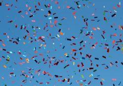 Skal der virkelig være fest, skal der være konfetti